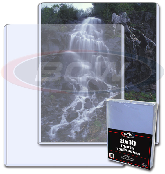 8 X 10 - Topload Holder - Pack of 25