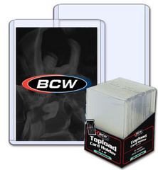 BCW 3 X 4 X 2 mm - Thick Card Topload Holder 79 Pt. - Pack of 25