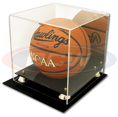 BCW Deluxe Acrylic Basketball Display - With Mirror Back - 1-AD05
