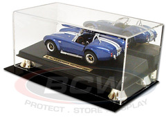 BCW Deluxe Acrylic 1:18 Scale Car Display - With Mirror Back