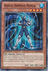 Aqua Armor Ninja - SP13-EN017 - Common - Unlimited Edition