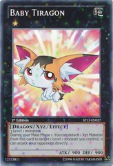 Baby Tiragon - SP13-EN027 - Starfoil Rare - Unlimited Edition on Channel Fireball
