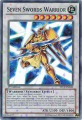 Seven Swords Warrior - SP13-EN048 - Starfoil Rare - Unlimited Edition