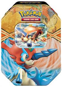 Pokemon 2013 Spring Tin: Keldeo EX