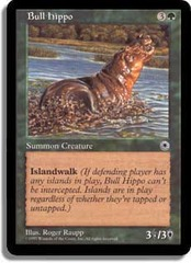 Bull Hippo (No Flavor Text)(POR)