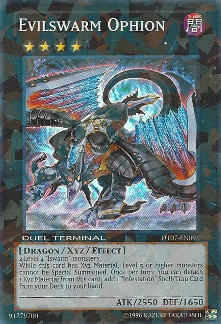 Evilswarm Ophion - DT07-EN091 - Super Parallel Rare - Duel Terminal