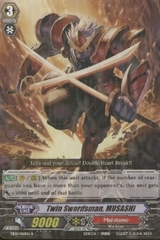 Twin Swordsman, MUSASHI - EB01/010EN - R on Channel Fireball