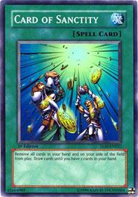 Card of Sanctity - TLM-EN037 - Super Rare - 1st Edition