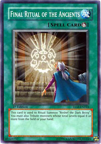Final Ritual of the Ancients - TLM-EN044 - Common - 1st Edition