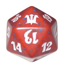 Magic Spindown Die - Innistrad - Red