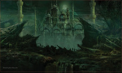 Artists of Magic Playmat - The Dead City