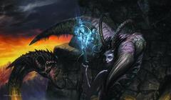 Artists of Magic Playmat - Servant of the Demoness