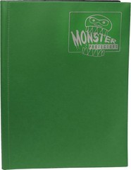 Monster Protectors 9 Pocket Matte Forest Green Binder