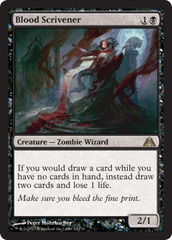 Blood Scrivener on Channel Fireball