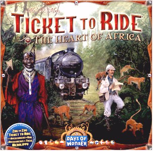 DO7217 - Ticket To Ride: Map Collection V3 - The Heart of Africa
