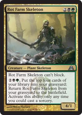 Rot Farm Skeleton - Foil
