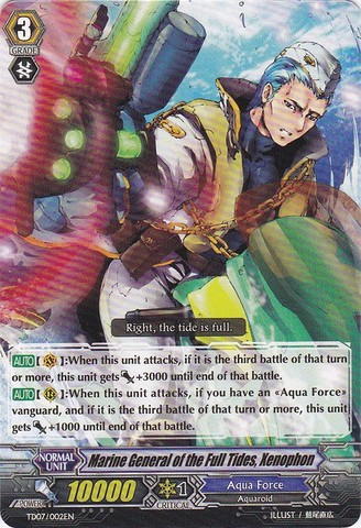 Marine General of the Full Tides, Xenophon - TD07/002EN