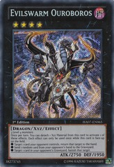 Evilswarm Ouroboros - HA07-EN065 - Secret Rare - 1st Edition