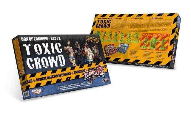 Box of Zombies - Toxic Crowd (Zombicide) - Set #2