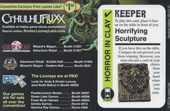 Cthulhu Fluxx Horrifying Scripture Promo Card