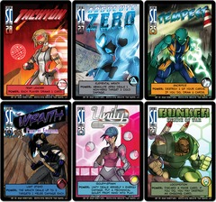 Sentinels of the Multiverse: Freedom Six Promo Pack