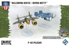 Dust Tactics: Allies P-48 Pelican -