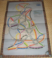 Ticket to Ride - UK version 2.0 (fan expansion to Ticket to Ride)