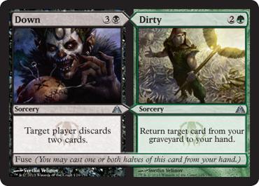 Down // Dirty - Foil