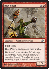 Riot Piker - Foil