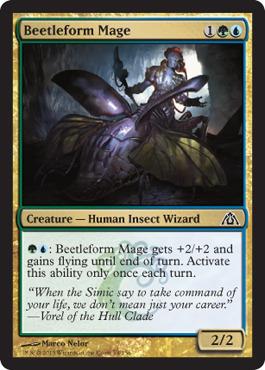 Beetleform Mage - Foil
