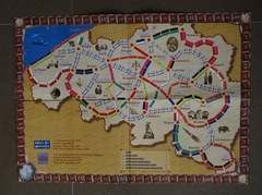Les Aventuriers du rail en Belgique (fan expansion for Ticket to Ride)