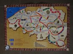 Les Aventuriers du rail en Belgique (fan expansion for Ticket to Ride)