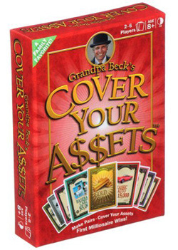 Grandpa Becks Cover Your A$$ets BEST SELLING GAME