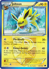 Jolteon - 34/116 - Uncommon