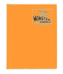 4-Pocket Monster Binder - Matte Orange