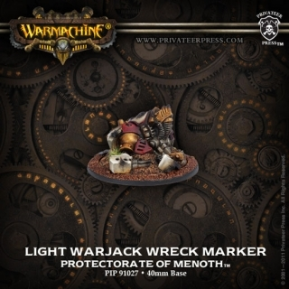 Protectorate of Menoth Light Warjack Wreck Marker
