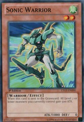 Sonic Warrior - LTGY-EN090 - Common - 1st Edition