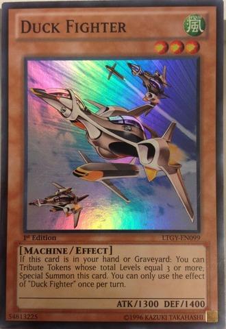 Duck Fighter - LTGY-EN099 - Super Rare - 1st