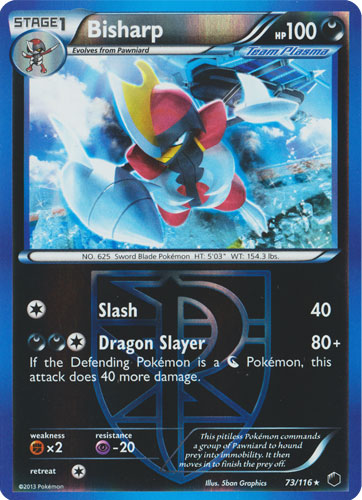 POKEMON BLACK AND WHITE PLASMA FREEZE SNEASEL 65//116 REV HOLO