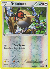 Hoothoot - 91/116 - Common - Reverse Holo