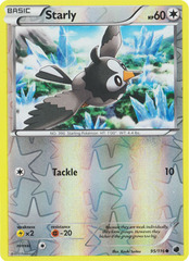 Starly - 95/116 - Common - Reverse Holo