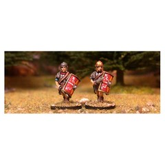 Legionary 7. Advancing with gladius (150209-0031)