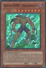 Destiny HERO - Dreadmaster - LCGX-EN125 - Super Rare - Unlimited Edition
