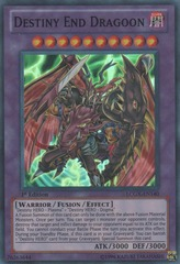 Destiny End Dragoon - LCGX-EN140 - Super Rare - Unlimited Edition