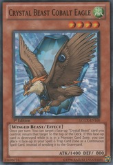 Crystal Beast Cobalt Eagle - LCGX-EN160 - Common - Unlimited Edition