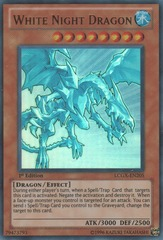 White Night Dragon - LCGX-EN205 - Ultra Rare - Unlimited Edition