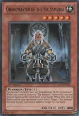 Grandmaster of the Six Samurai - LCGX-EN226 - Common - Unlimited Edition