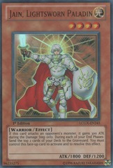 Jain, Lightsworn Paladin - LCGX-EN245 - Ultra Rare - Unlimited Edition