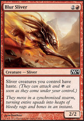 Blur Sliver - Foil on Channel Fireball
