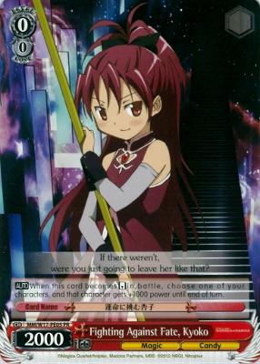 Fighting Against Fate, Kyoko - W17-PE05 - PR